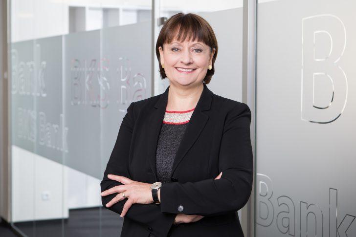 BKS Bank Vorstandsvorsitzende Stockbauer @Gernot Gleiss