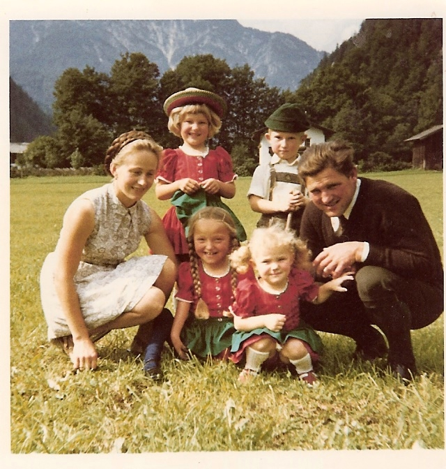Marianne Hengl und Familie © privat