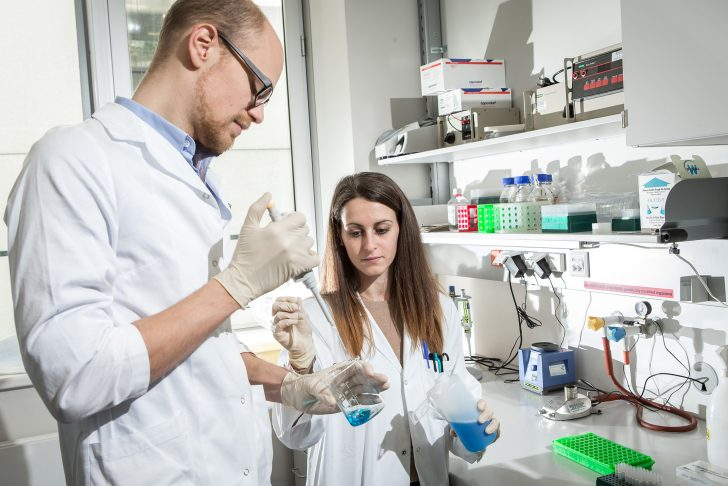 Medizinische Forschung Mikroskopie © MedUni Wien Chrisitan Houdek