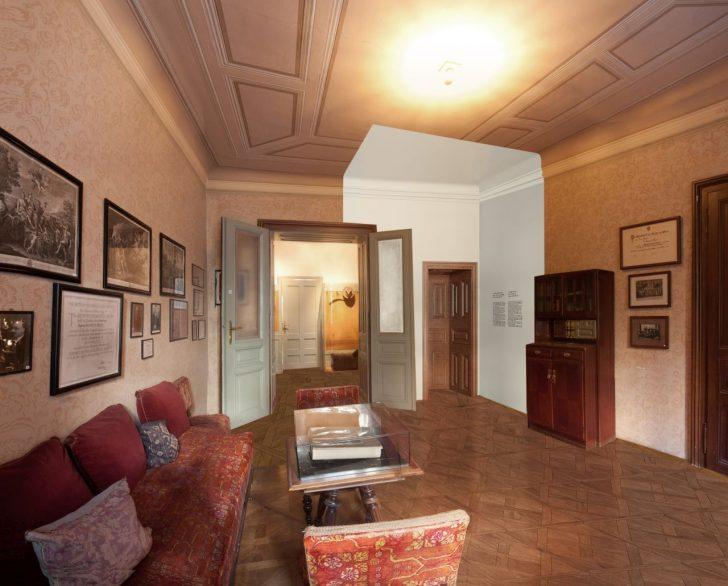 Rendering Wartezimmer © Sigmund Freud Museum