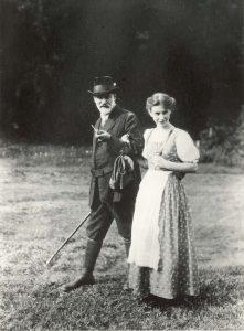 Sigmund und Anna Freud in den Dolomiten 1913 © Sigmund Freud Copyrights
