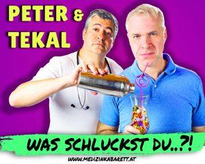 Peter und Tekal © Medizinkabarett