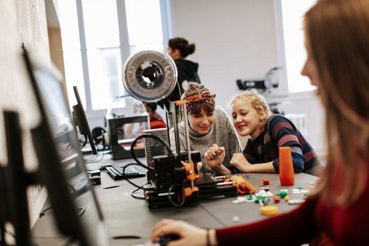 3D Drucker im techLAB © Paul Bauer