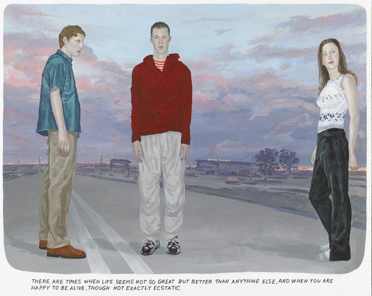 MunteanRosenblum Untitled There are times when life 2001 Albertina Wien Sammlung Essl © MunteanRosenblum