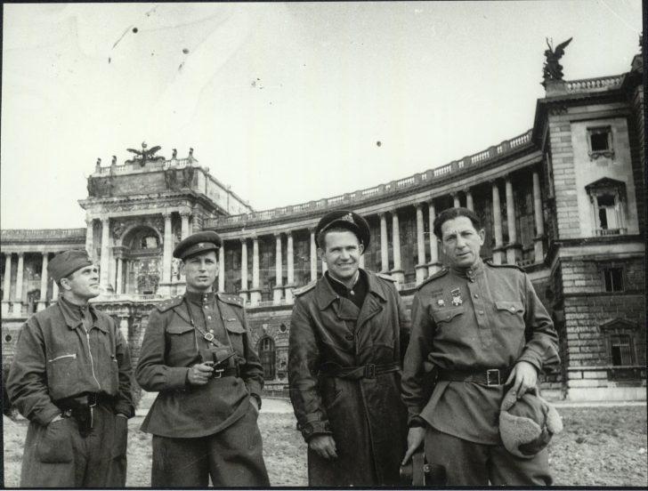 Hofburg, 1945© Sammlung Erich Klein, Foto:Jewgeni Chaldej